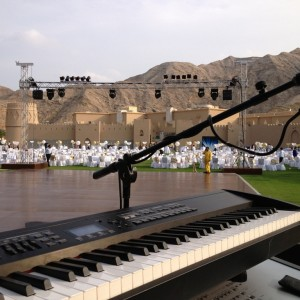 Sway Allstars - Soundcheck in Oman