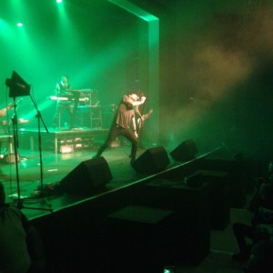 Gary Numan UK Tour with David Brooks from Sway Allstars