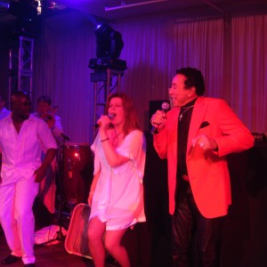 Smokey Robinson with Sway Allstars