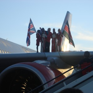 Sway Allstars Arriving in Kenya