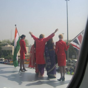 Sway Allstars Arriving in Mumbai
