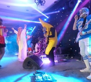 Sway Allstars sing at Fancy Dress Ball - 2011