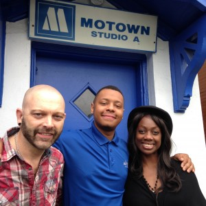 Sway Allstars at Motown Studios in Detroit
